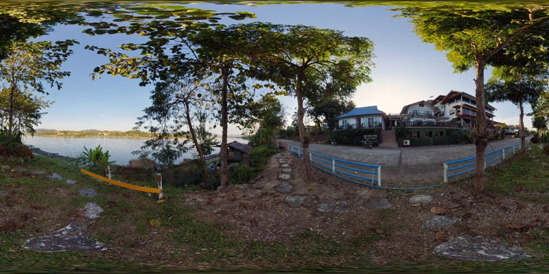 Chiang Khong Riverside Panorama January 2017 Panorama Preview