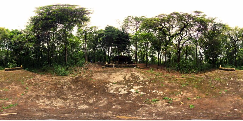 San Ku Forest Temple Wihan May 2015 Panorama Panorama Preview