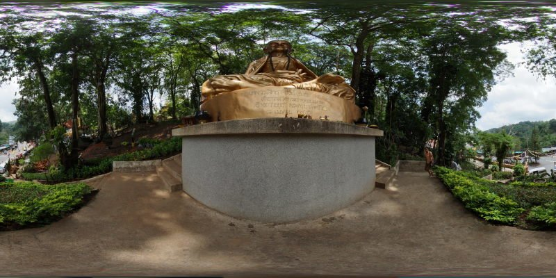 Phra Thep Statue Doi Suthep Panorama Panorama Preview