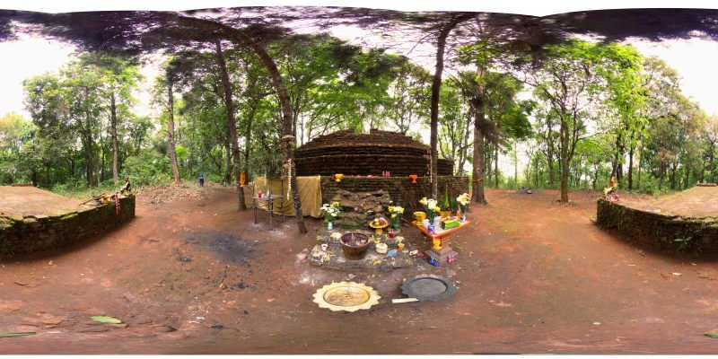 San Ku Forest Chedi Southern Side May 2015 Panorama Panorama Preview