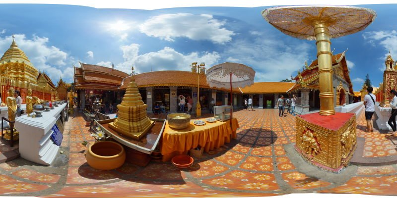 Doi Suthep Virtual Tour Panorama Preview