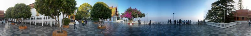 Wat Phra That Doi Suthep Terrace 2004 Panorama Preview