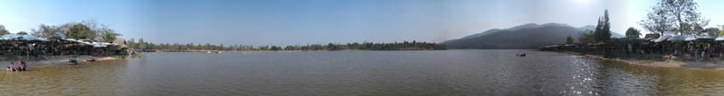 Huay Tueng Tao Lake in 2005 Panorama Preview