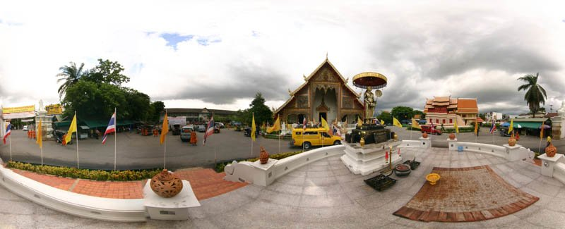 Wat Phra Singh 2008 Panorama Preview