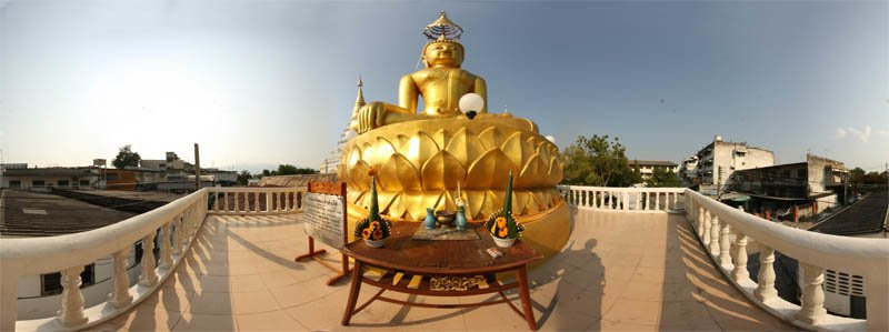 Wat Chiang Yuen Sitting Buddha February Panorama 2013 Panorama Preview