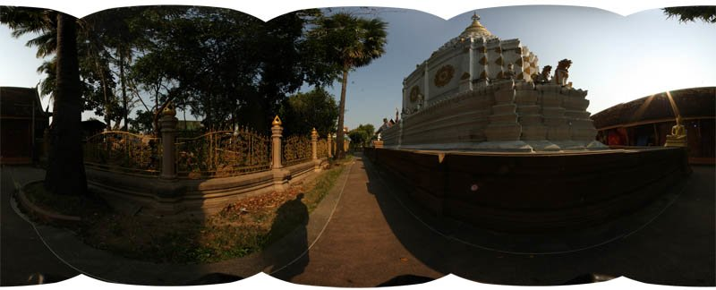 Wat Chiang Yuen Chedi Panorama February 2013 Panorama Preview