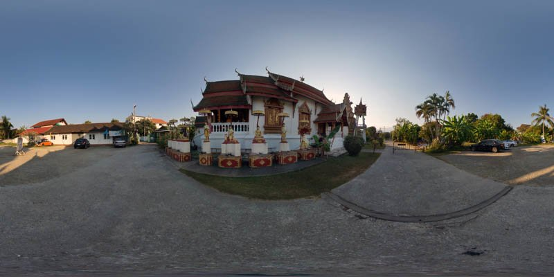 Wat Puak Hong Wiharn 2017 Panorama Panorama Preview
