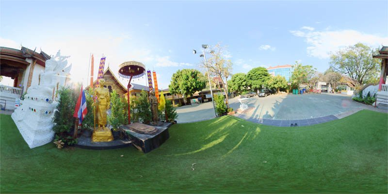Wat Tung Yu Outside February 2014 Panorama Preview