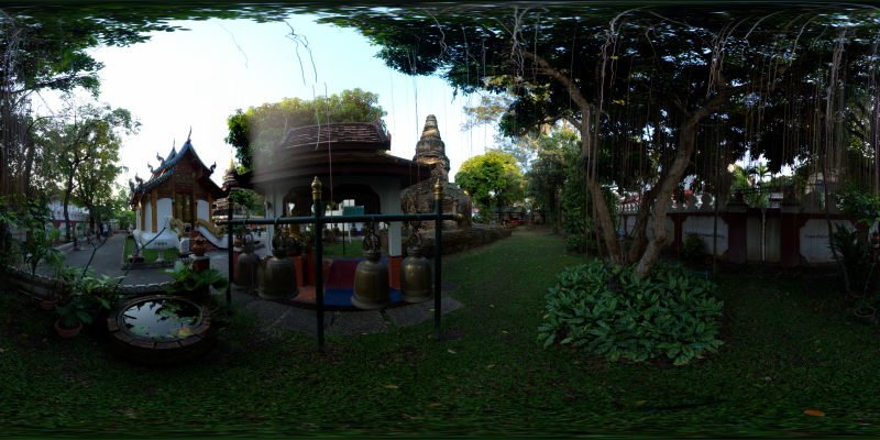 Wat Umong Maha Thera Chan January 2014 Panorama Panorama Preview