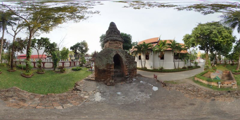 Wat Umong Maha Thera Chang Garden Panorama Preview