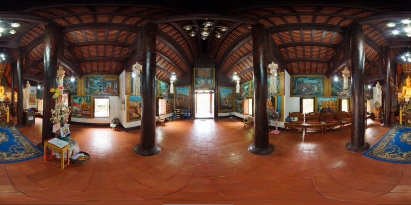 Wat Umong Maha Thera Chan Wihan January 2015 Panorama Panorama Preview