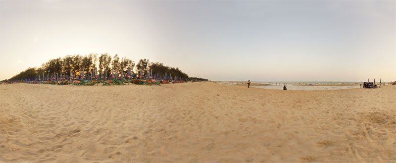 Cha-am Beach April 2014 Panorama Preview