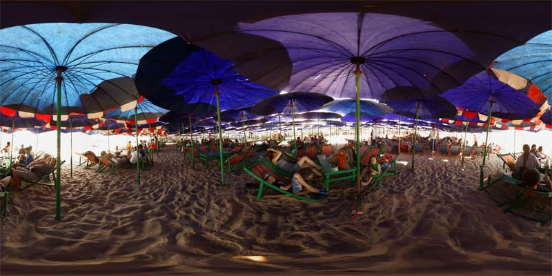 Cha-am: Under the Beach Umbrellas 2014 Panorama Preview