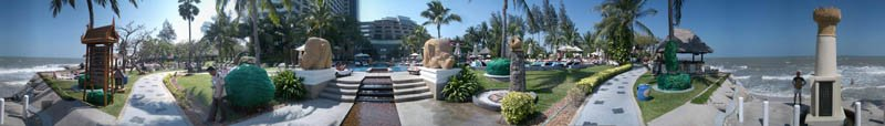The Hilton Hua Hin Hotel in 2004 Panorama Preview