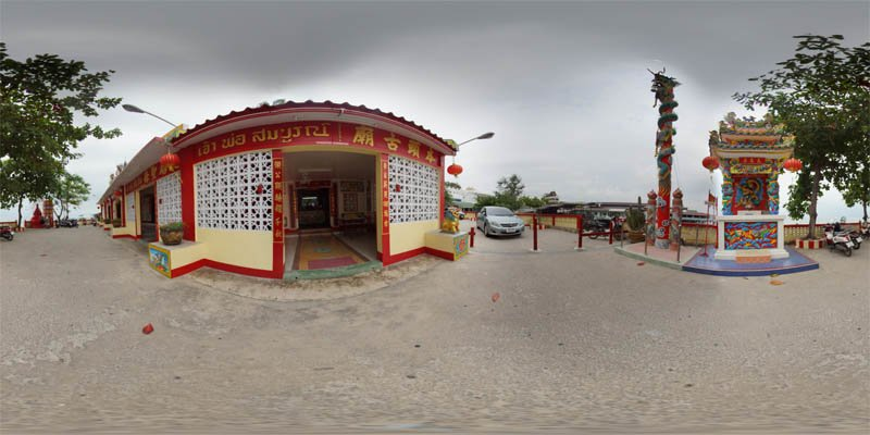 Hua Hin Chinese Temple 2014 Panorama Preview