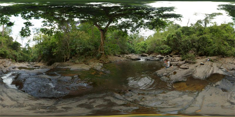 Pala-U Waterfall Pool 2014 Panorama Preview