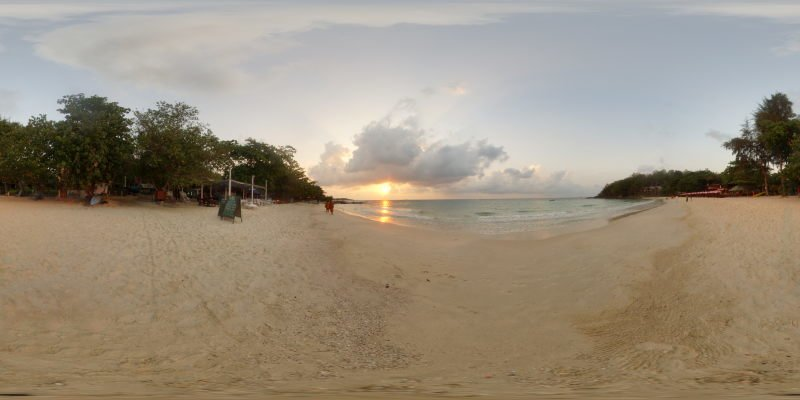 Tabtim Bay Sunrise Ko Samet 2014 Panorama Preview