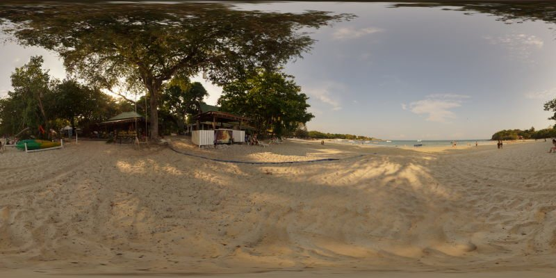 Vong Deuan Resort Ko Samet 2014 Panorama Preview