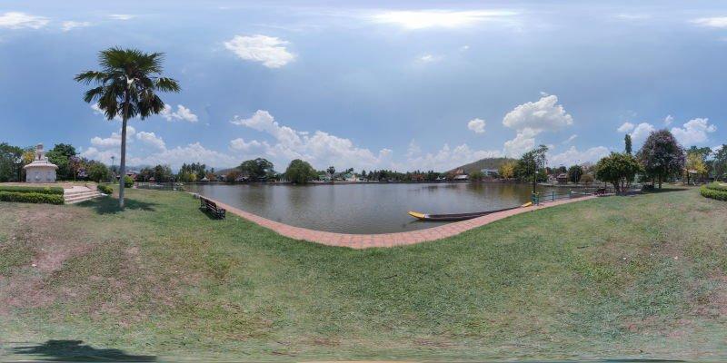 Jongkham Lake Mae Hong Son April 2015 Panorama Preview