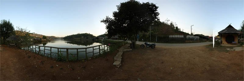 Rak Thai Village in Mae Hong Son Province 2013 Panorama Preview