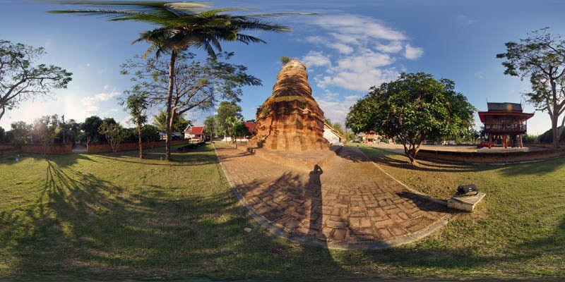 Wiang Lo Payao Stupa January 2017 Panorama Panorama Preview