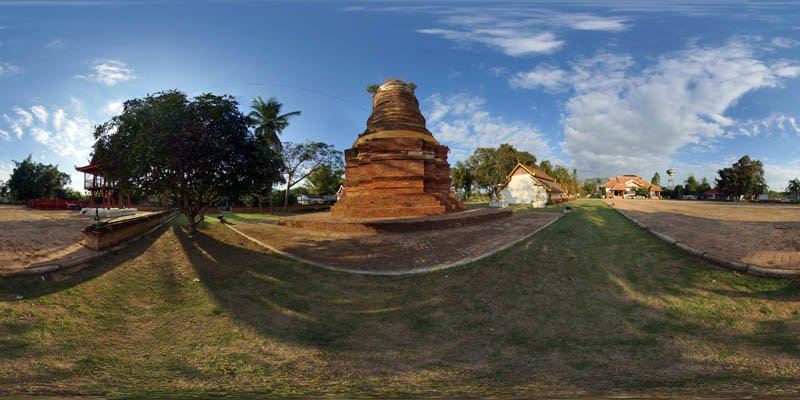 Wiang Lo Payao Chedi January 2017 Panorama Panorama Preview