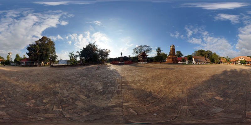 Wiang Lo Payao Square January 2017 Panorama Panorama Preview